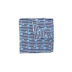 Breton Signal Silk Pocket Square