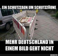 Deutschland in einem Bild.. | Lustige Bilder, Sprüche, Witze, echt lustig