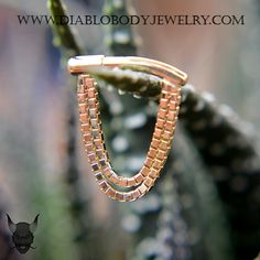 BVLA Yellow Gold Dire Straights 14kt Yellow Gold Septum Clicker. Also available in White Gold or Rose Gold.   https://www.diablobodyjewelry.com/index.php?main_page=advanced_search_result&search_in_description=1&zenid=d3e726329eeb76973d97a1feaf8d2508&keyword=dire+straights&x=0&y=0