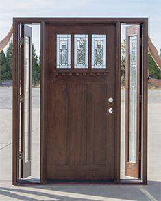 craftsman door venting sidelite opens & French Doors .. glass doors... wood door with glass.. back porch ... Pezcame.Com