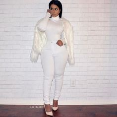 Congrats to for winning the giveaway! Way more giveaways to come! Entire fit from All White Outfit, White Outfits, Freakum Dress, White Jeans, Style Inspiration, Fashion Outfits, Elegant, My Style, Fitness