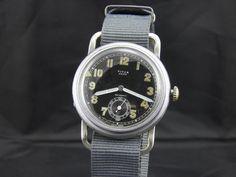 Titus Aero Military Luftwaffe Aviator watch c 1920's