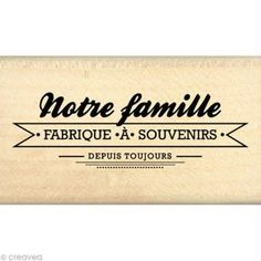 Tampon Border line - Fabrique à souvenirs 4 x 7 cm Citations Souvenirs, Family Relations, French Quotes, Tampons, Positive Attitude, Journal Cards, Photo Book, Album Photo, Cool Words