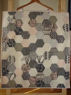 Tallgrass Prairie Studio: Tutorials-hexagons by machine