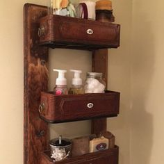 This is the inspiration for my sew machine drawer shelves that I found on Hometalk (another DIY addiction of mine, lol)