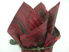 Silk pocket square saville by LeBoutonVert on Etsy, $11.75