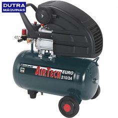 Compressor de ar baixa pressão 8 pés 24 litros monofásico - EURO 210/24 - Einhell - R$493,73