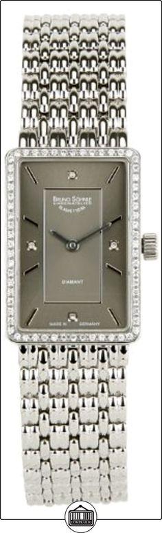 BRUNO Söhnle La Traviata cuarzo analógico reloj de mujer de plata 17-13131-892  ✿ Relojes para mujer - (Lujo) ✿