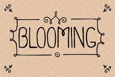 Blooming by Gaslight on @creativemarket