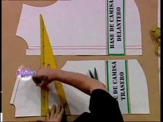 Hermenegildo Zampar - Bienvenidas TV - Enseña la costura de la camisa de hombre - YouTube Sewing Basics, Sewing Hacks, Free Sewing, Hand Sewing, Learn To Sew, How To Make, Sewing Techniques, I Love Fashion, Pattern Making