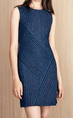 Azul Knitting Sweaters, Knit Skirt, Spring Summer, High Neck Dress, Colours, Crochet, Womens Fashion, Skirts, Dresses