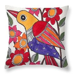 Worli Painting, Fabric Painting, Fabric Art, Madhubani Art, Madhubani Painting, Indian Arts And Crafts, Quirky Art, Indian Folk Art, Homemade Art