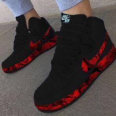zapatillas nike belcro mujer