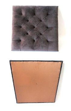 ZAGŁÓWKI-tapicerskie - moduły pikowane/szare,graf - YourHome - Łóżka