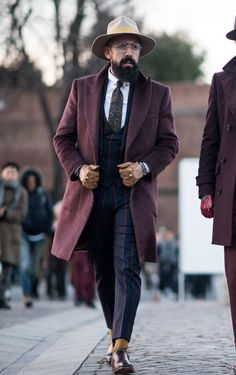 We're loving the streetstyle at Pitti Uomo, shop suiting at Farfetch now