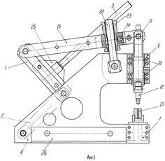 Механический ручной пресс