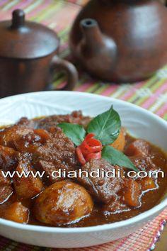 Resep Semur Ayam Ala Padang