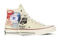Converse x Andy Warhol Coming in February:  Look for sneakers sporting the famous Campbell's Soup cans. | ArtNet News