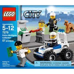 Lego City Police Minifigure Collection, Multicolor
