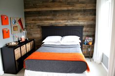 Boys Tween Room - contemporary - bedroom - justagirl
