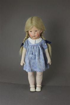 Kathe Kruse Doll    More images via Invaluable link
