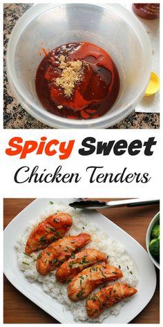 Spicy Sweet Chicken Tenders