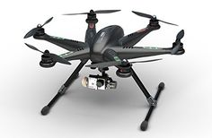 Sceek.Com - Walkera Tali H500 Ready to Fly FPV RC Drone Quadcopter with Brushless Camera Gimbal and Devo F12E Radio - Carbon Fiber Look Version