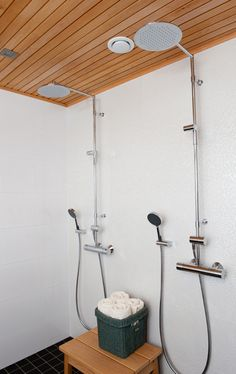 Oras Cubista shower faucet (2892)with Oras Hydra shower set