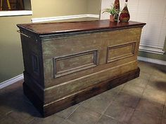 Repurposed Antique Store Counter - Kitchen Island or Bar