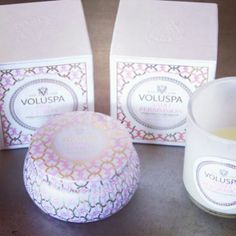 . Voluspa Candles, Place Cards, Place Card Holders, My Favorite Things, My Love, Products, Bonheur, Beauty Products