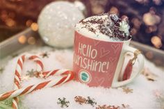 This delicious Christmas Coffee is easy to make yourself. Click for the recipe!