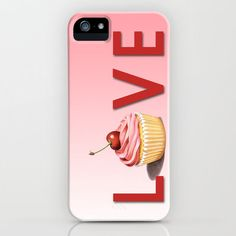 #Society6                 #love                     #Perfect #Pink #Cupcake #LOVE #iPhone #Case #Patricia #Shea #Designs #Society6                          Perfect Pink Cupcake LOVE iPhone Case by Patricia Shea Designs | Society6                               http://www.seapai.com/product.aspx?PID=1585163