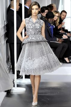 Christian Dior Spring 2012 Couture Fashion Show - Carolina Thaler (NATHALIE)