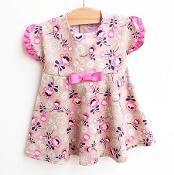 BELLA FIORELLA Dress newborn to 2yrs - via @Craftsy