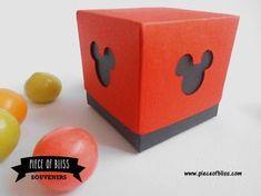 Caja Mickey   Tarjetas Invitaciones y Souvenirs - Montevideo