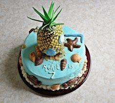 Spongebob cake idea.