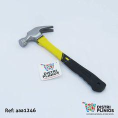 Practico martillo en mango de plástico. Ideal para toda herramienta. Los precios de nuestro sitio web son al por mayor, el costo de los productos se incrementa en compras por unidad, cualquier inquietud comuníquese al 320 3083208 o al 3423674 o visítenos en la Calle 12 B # 8a – 03 Centro, Bogotá, Colombia.