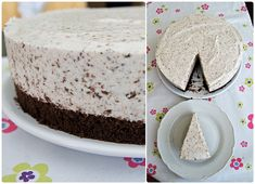 Dort stracciatella Vanilla Cake, Food Inspiration, Cheesecake, Sweet Home, Pudding, Sweets, Recipes, Cakes, House Beautiful