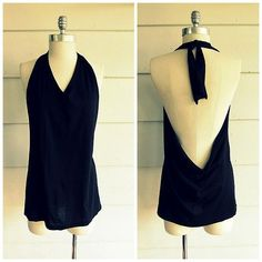 No Sew Tied Halter from T-Shirt