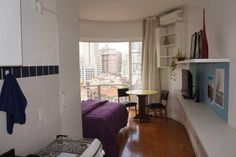 Ganhe uma noite no STUDIO 126. PRÉDIO FAMOSO CENTRO SP - Apartamentos para Alugar em São Paulo no Airbnb!