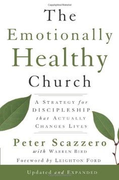 The Emotionally Healthy Church, Expanded Edition: A Strategy for Discipleship That Actually Changes Lives by Peter Scazzero http://www.amazon.com/dp/0310293359/ref=cm_sw_r_pi_dp_B9BLtb05K104YRGY