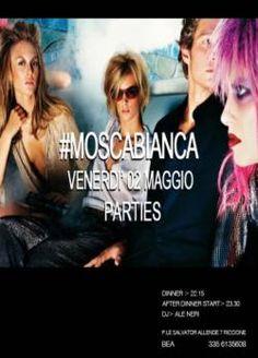 Il venerdì sera è solo Moscabianca #Riccione