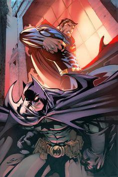 World's Finest by Gerardo Sandoval Teodoro Gonzalez   I'm excited for the Batman vs Superman film!