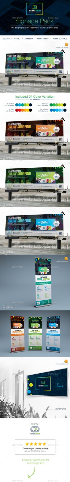 BillBoard : RollUp Banner & Location Board — Vector EPS #medical billboard #Product Billboard • Available here → https://graphicriver.net/item/billboard-rollup-banner-location-board/14466040?ref=pxcr