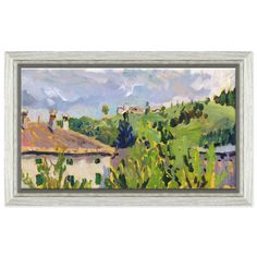 "View from BalconyK-BP-17S-0042Dimensions: 18.5"" x 11.5""Frame: Gallery/4093"