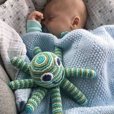 "Pebble Green Octopus Rattle Spotted! This little guy is popular world over. It seems no matter how many of these guys we pack into our warehouse they always seem to make a quick escape.  This year he is joined not only from his longtime Pink partner but by Light Blue Light Pink Organic and a Rainbow cousins. ""Wat een schattige foto van baby André samen met de Pebble octopus rammelaar!! #pebble #pebblechild #fairtrade #rattle #rammelaar #kleinegiraf #baby #hazes #pebblespotted ( #…"