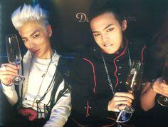 Big Bang GD and TOP