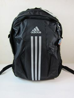 New Adidas CR BTS Power Backpack School Gym Travel Bag BLACK GRAY Laptop  Cases 67be600dd82c0