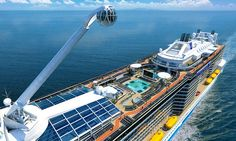 Royal Caribbean will launch the Harmony of the Seas in May. When they do, she'll be the largest cruise ship sailing the high seas. I got a sneak preview...!