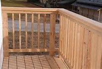 rampe terrasse en bois - Bing images